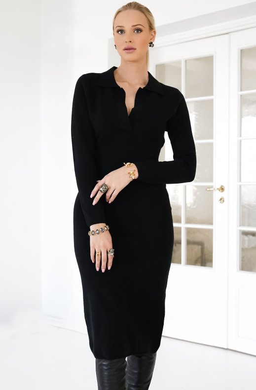 ADOORE BIARRITZ DRESS BLACK
