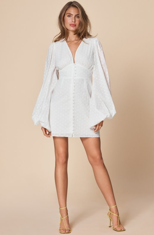Adoore - Florence Dress - White