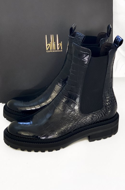 BILLI BI - Chelsea Boot Croco 4806 Black