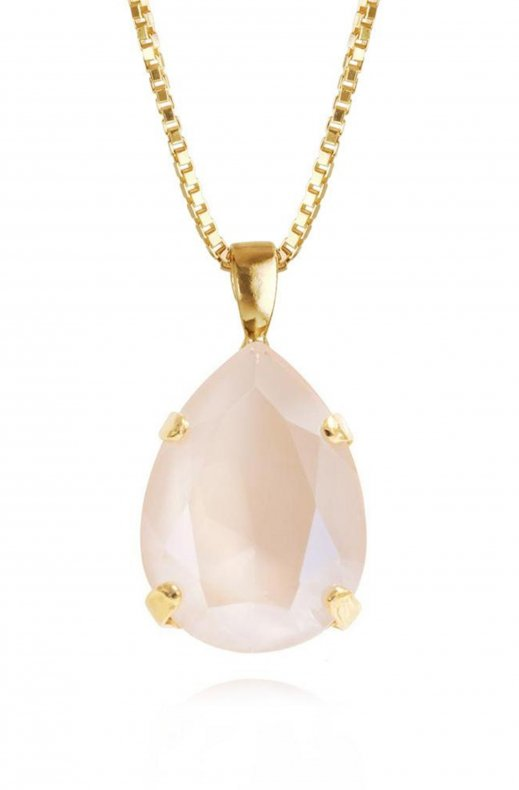 CAROLINE SVEDBOM - Classic Drop Necklace Gold/IvoryCream