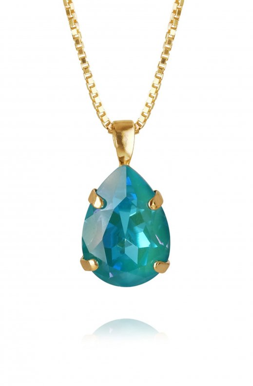 CAROLINE SVEDBOM - MINI DROP NECKLACE GOLD LAGUNA DELITE