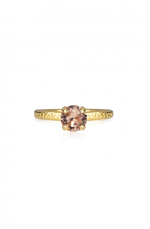 Caroline Svedbom - Natti Ring - Gold Light Peach