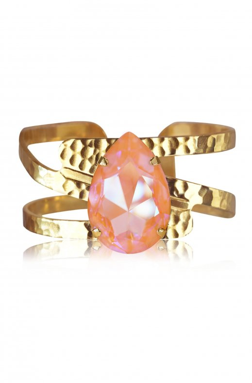 CAROLINE SVEDBOM - PERFECT DROP BANGLE GOLD PEACH