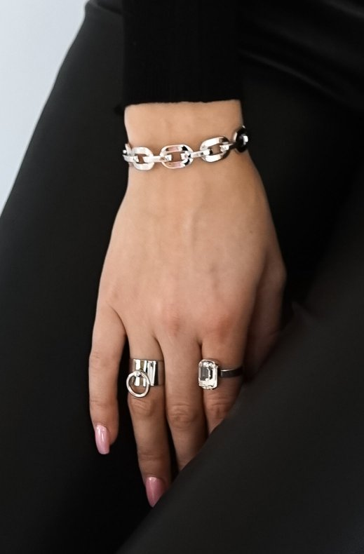 Jane and Sophie - chain bracelet silver