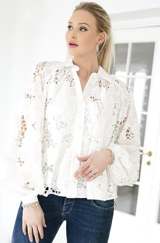 Custommade - Betsy Blouse - White