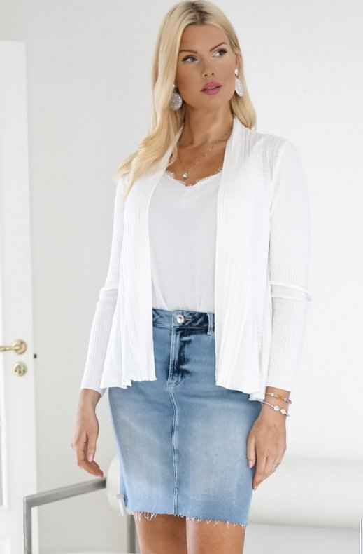 Freequent - Claudisse Cardigan SS20 White