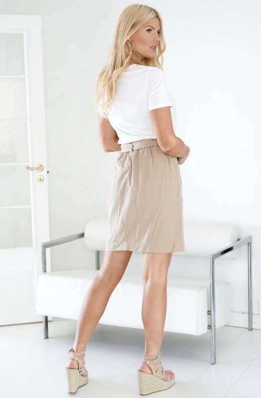Freequent - Comba Skirt Beige Sand