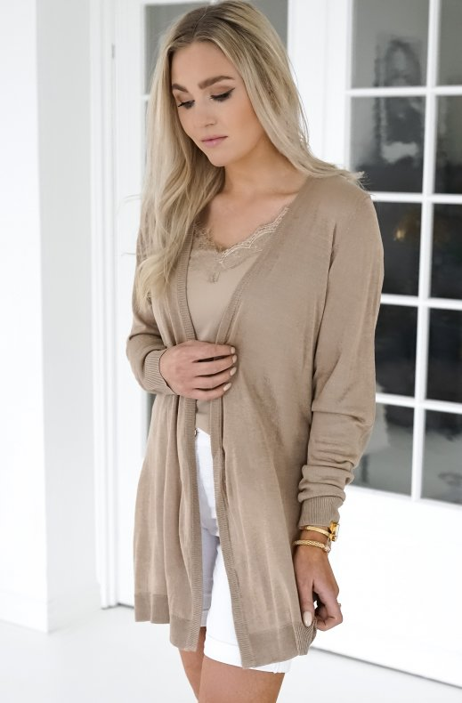 Freequent - Elina Cardigan - Beige Sand