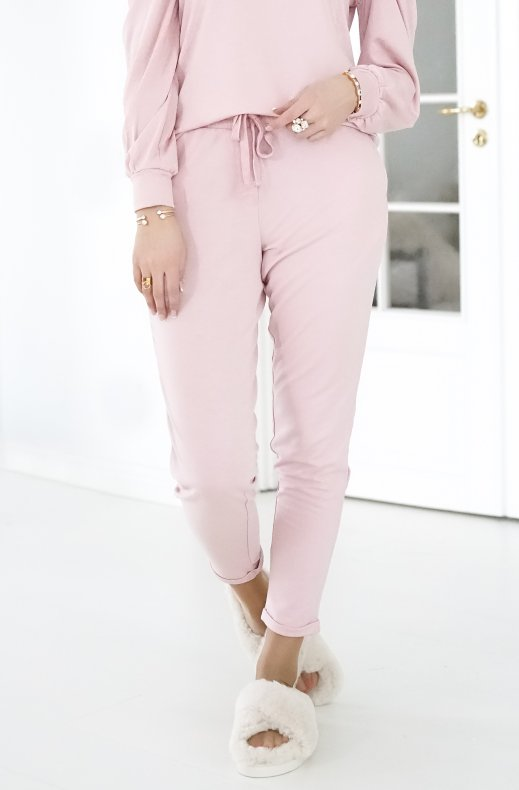 Freequent - Off Pants Silver Pink