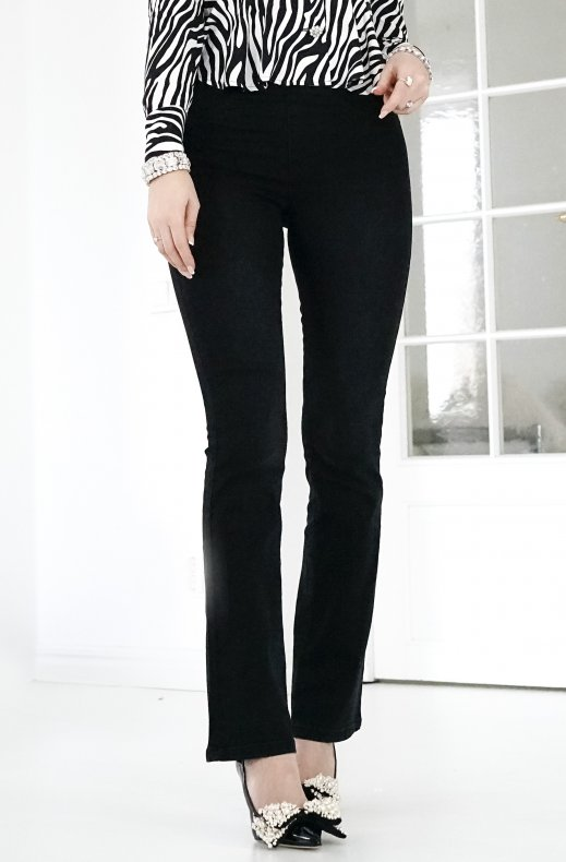 Freequent - Shantal Bootcut Black Denim