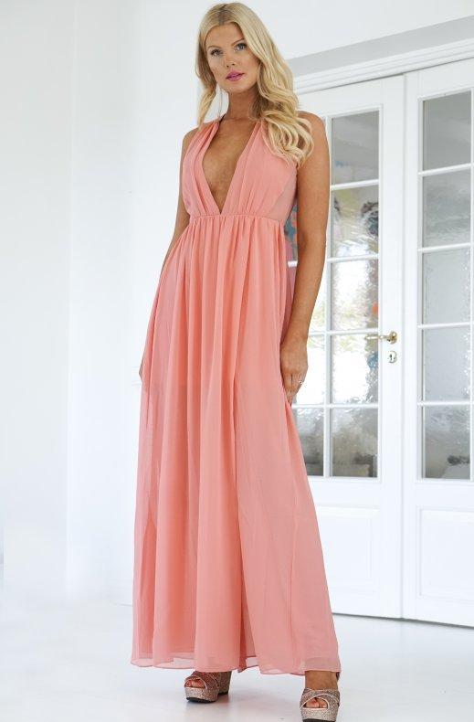 French Connection - Maxi Dress Coral