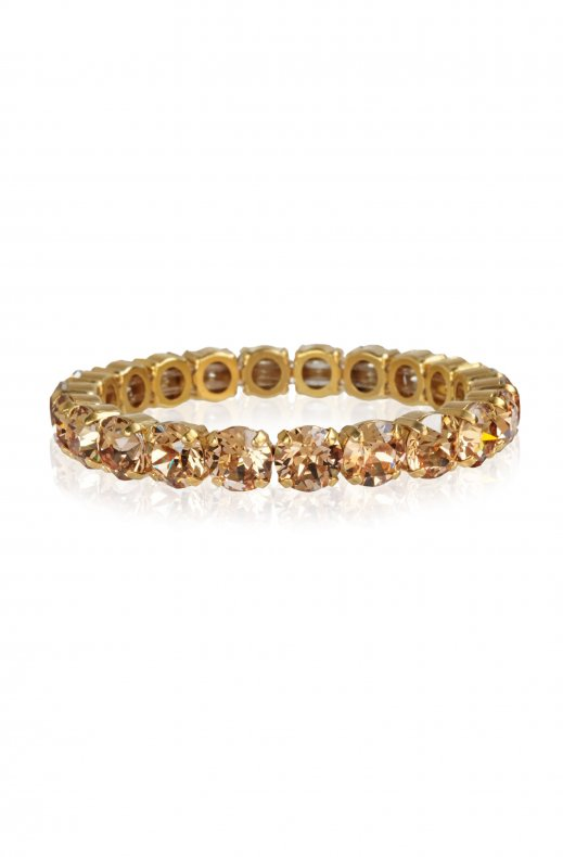 CAROLINE SVEDBOM - GIA STUD BRACELET GOLD LIGHT COLORADO TOPAZ