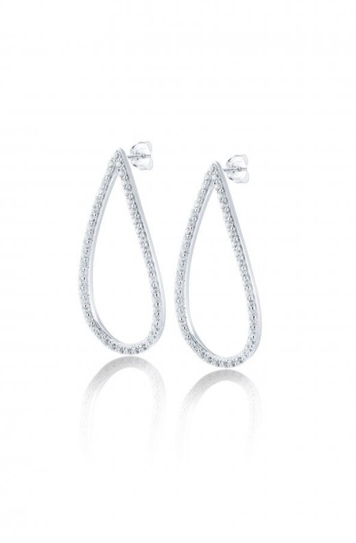 Gynning Jewelry - Mira Sparling Earrings - Silver