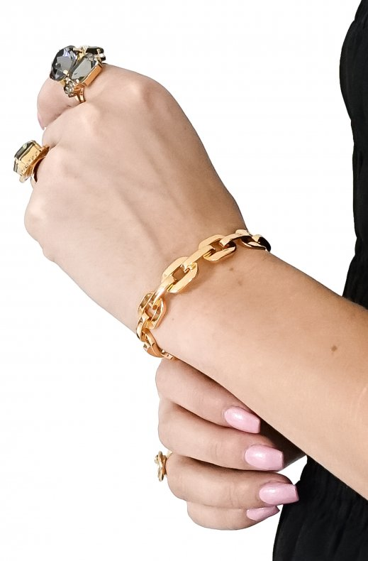 Jane & Sophie– Chain bracelet gold