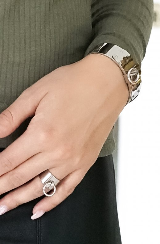Jane & Sophie - Circle ring silver