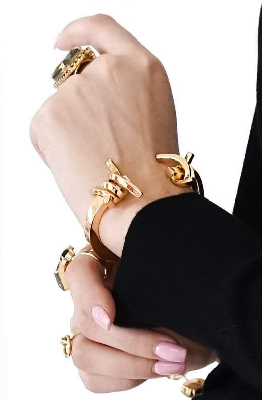 Jane & Sophie - Nestle bracelet gold