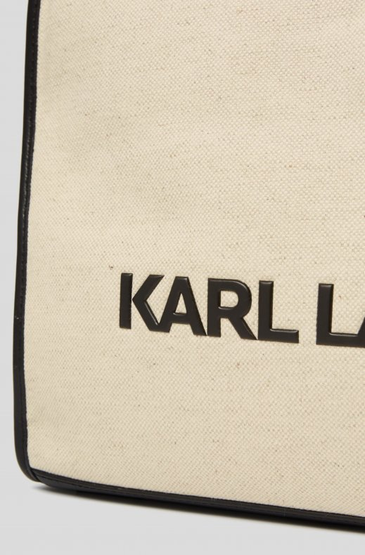 Karl Lagerfeld - Canvas Tote - Natural
