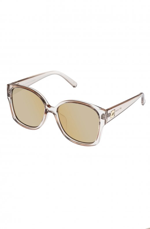 Le Specs - Athena - Stone with Gold Mirror Lens
