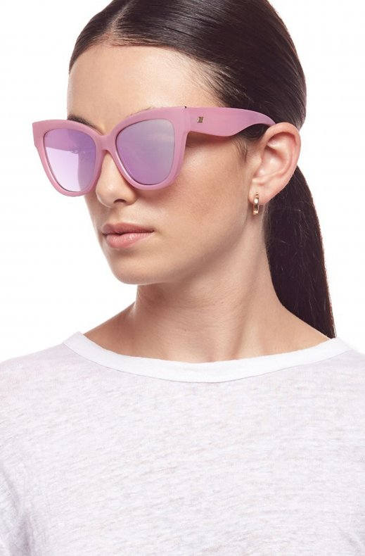 Le Specs - Le Vacanze Orchid Mist - Gold with Orchid Mirror