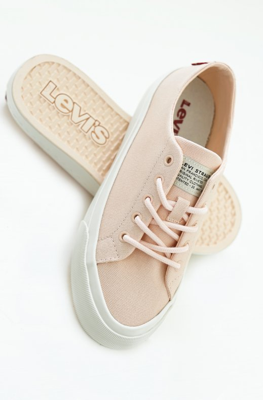 Levis - Summit Low Sneaker - Light Pink