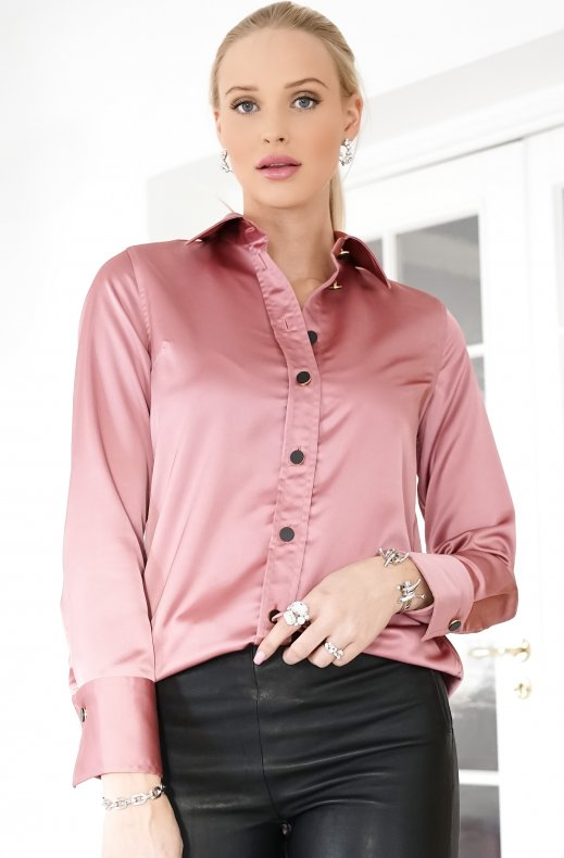 LIBERTINE – LIBERTINE – BOLD SHIRT DUSTY PINK