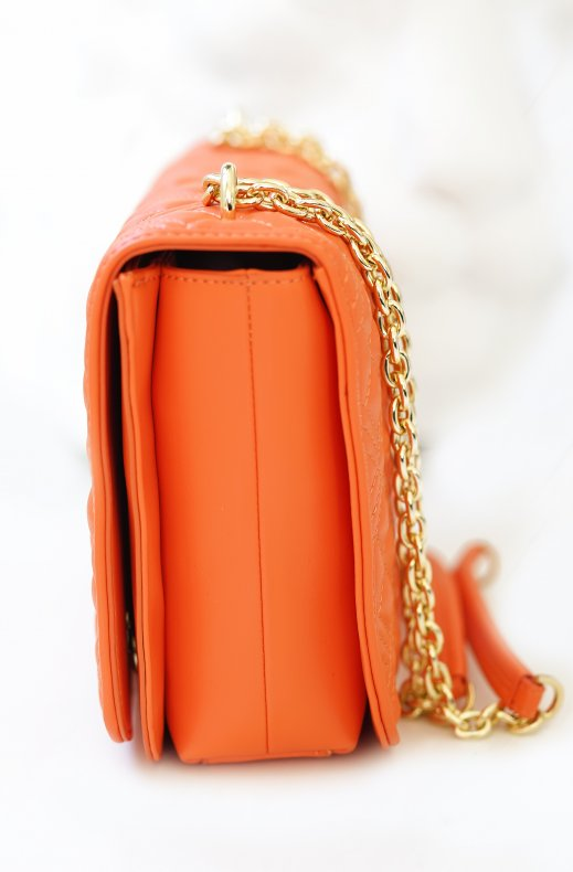Love Moschino - Qulited Bag Handle - Orange