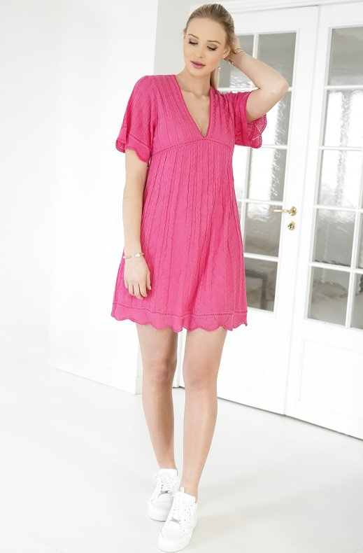 M.Missoni - Short Cerise Dress Abito