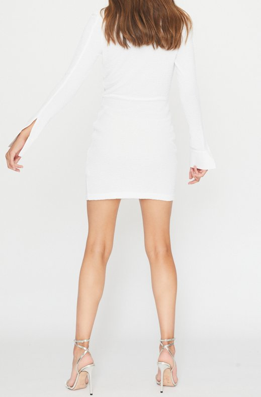 Rotate - Simone Dress - White