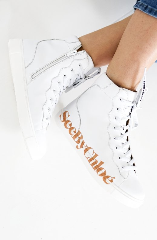 See by Chloe - Essie sneaker high white