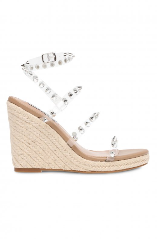 Steve Madden - Marebella Wedge - Clear