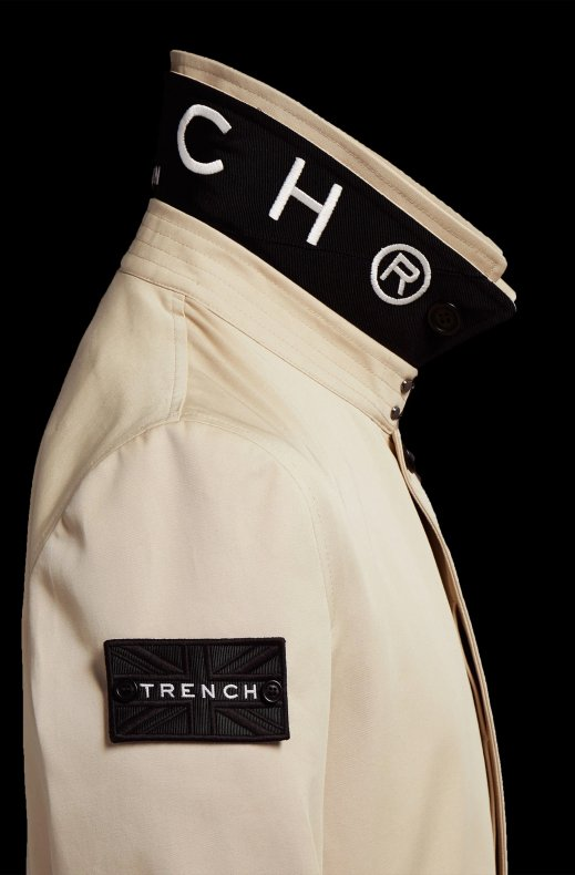 TRENCH LONDON - THE KNIGHT STONE BLACK WHITE