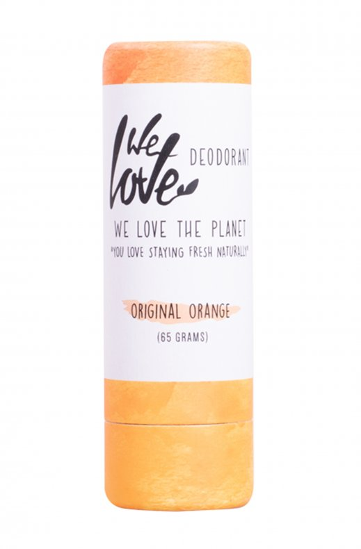 WE LOVE THE PLANET- DEO ORIGINAL ORANGE